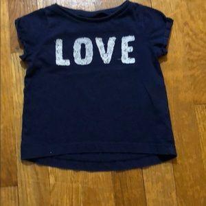 Toddler Carter's 24 months blue tee shirt